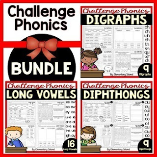 teaching phonics no prep resources