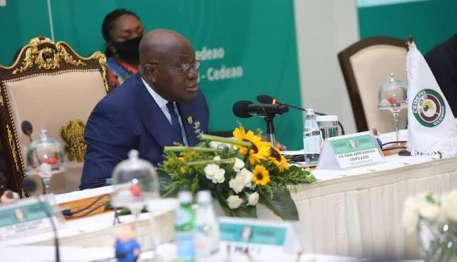 President Akufo-Addo reiterates ECOWAS's commitment to Mali's Peace