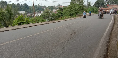 jalan nasional rawan longsor, bpjn wilayah iv lamban