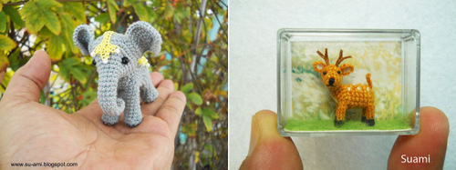 02-SuAmi-Mini-Crocheted-Animals-Elephant-Fawn-Deer