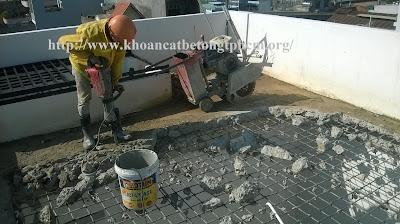 Khoan cắt bê tông tại Tây Ninh 2