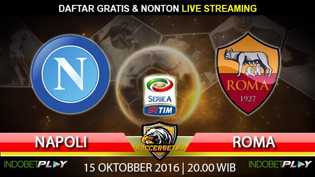 Prediksi Napoli vs Roma 15 Oktober 2016 (Liga Italia)