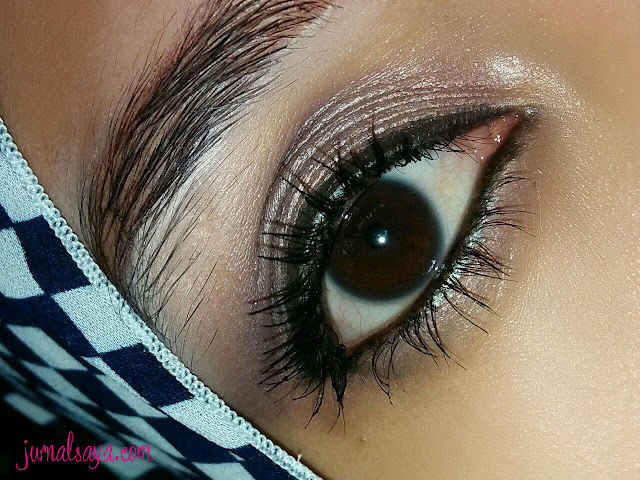 performa eye makeup poppy dharsono, EOTD