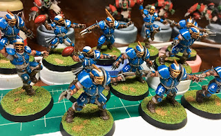 Games Workshop Blood Bowl Humans Speed Painting Army Painter Anti-Shine Matte Varnish
