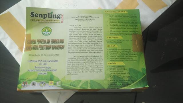 Brosur Senpling Seminar Nasional