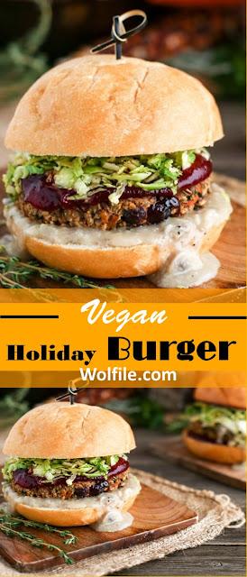 Vegan Burger Recipe #Holiday #Brunch