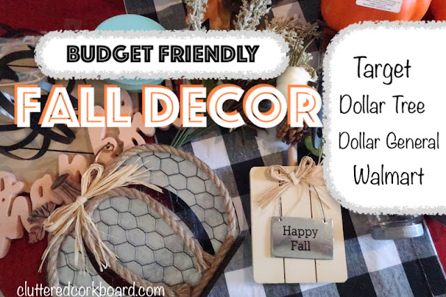 Budget Friendly Fall Decor Haul   Dollar Tree, Target, and more