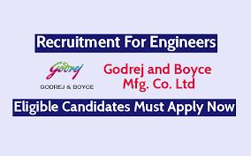 Godrej & Boyce Mfg. Co. Ltd. Job Opening for Various ITI trades Candidates in Vikhroli, Mumbai Location