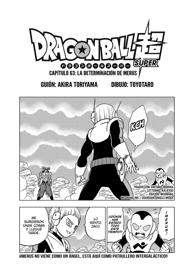 Dragon Ball Super Manga 63 Español