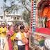 श्री महाराज बाबा के मठिया पर भव्य कलशयात्रा के साथ शुभारंभ हुआ श्रीमद् भागवत महापुराण कथा व यज्ञ