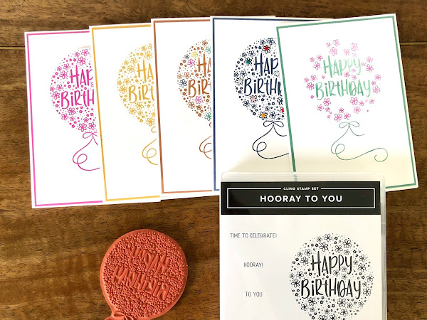 Simple Stamping with Hooray To You