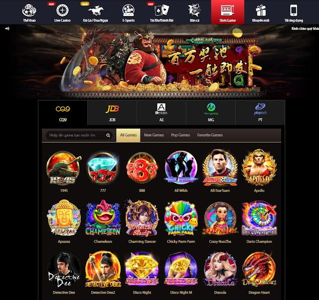 Slot game vnd188