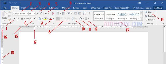 Fungsi Tools dan Menu di Microsoft Word Yang Sering Digunakan