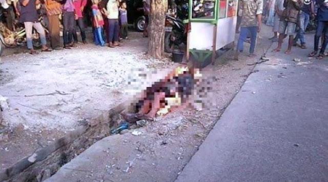 Ya Allah, Pria yang Dibakar Hidup-hidup Itu Bukan Pencuri Tapi Korban Salah Sasaran, Ini Faktanya