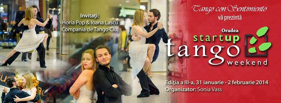 StartUP Tango Weekend Oradea - editia a III-a