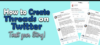 How To create a thread on Twitter on mobile and computer