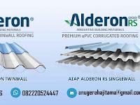 Atap Alderon Pionir Atap UPVC Gelombang