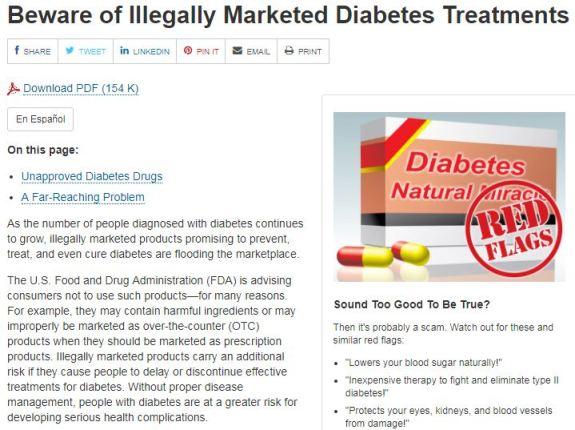 suplemen tidak berdaftar untuk kencing manis