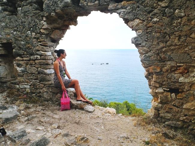 PARGA Travel Guide Castle of Parga Kastro.Parga letovanje tvrdjava Parga.