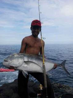Spot rock fishing potensial di Jember Jawa Timur