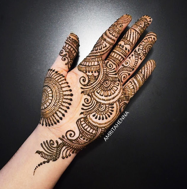 65+ Easy Mehndi Designs for Starters