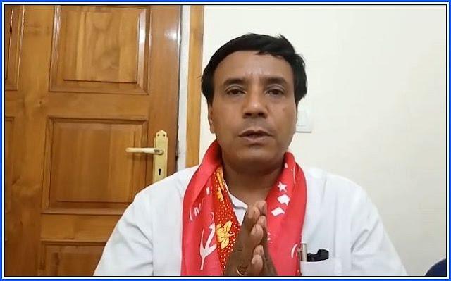CPIM candidate Saman Pathak