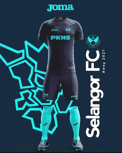 jersi Selangor FC 2021 Away Kits