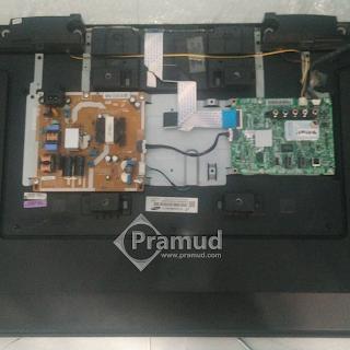 bagaimana cara servis memperbaiki led tv samsung rusak mati - pramud blog