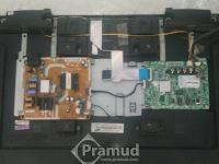 Cara mudah memperbaiki LED TV Samsung yang mati