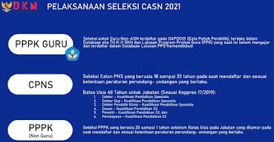 Alur Seleksi Penerimaan CASN dan PPPK Tahun 2021