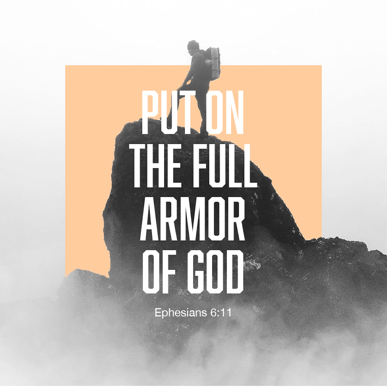 Finally, be strong in the Lord and in his mighty power. Put on the full armor of God, so that you can take your stand against the devil's schemes. For our struggle is not against flesh and blood, but against the rulers, against the authorities, against the powers of this dark world, and against the spiritual forces of evil in the heavenly realms.