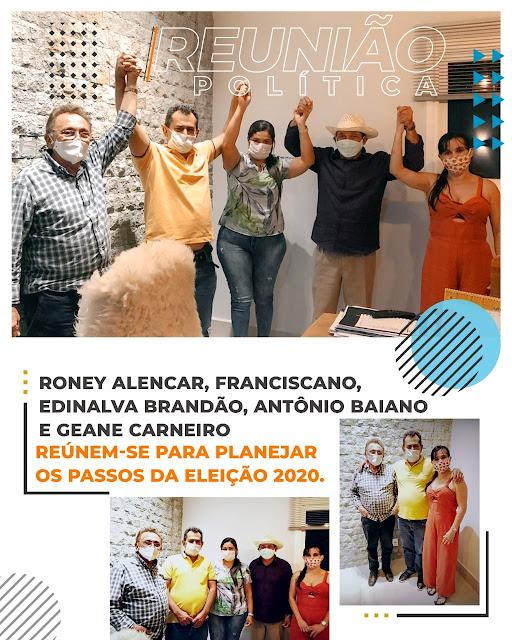 Em São Francisco do Brejão, Ronei Alencar segue conseguindo importantes apoios ao seu projeto de governar o município!!!