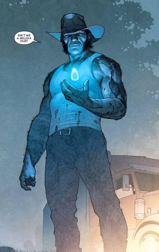 Wolverine / Logan retornó con una gema del infinito en 2018