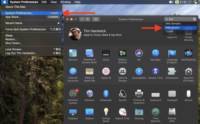 Cara menggunakan DNS Cloudflare untuk mempercepat kecepatan jaringan di Mac dan iPhone