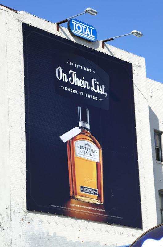 Jack Daniels Gentleman Jack billboard