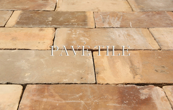 Pavé Tile S French Reclaimed Terra Cotta Flooring Parefeuille Mirambeau
