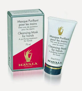Mascarilla purificante mavala. Masque purifiant pour les mains. Cleasing Mask for hands. Mascarilla de manos. Mavala.