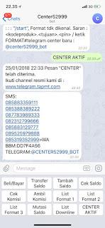 Topautopayment pulsa murah kalimantan, @center52999_bot Tampilan center telegram baru