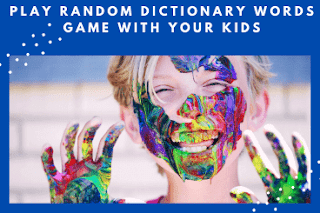 Generate Random Words and Play a Word Game with your Kid