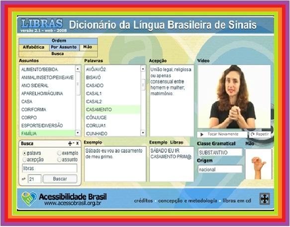 dicionario brasileiro de libras