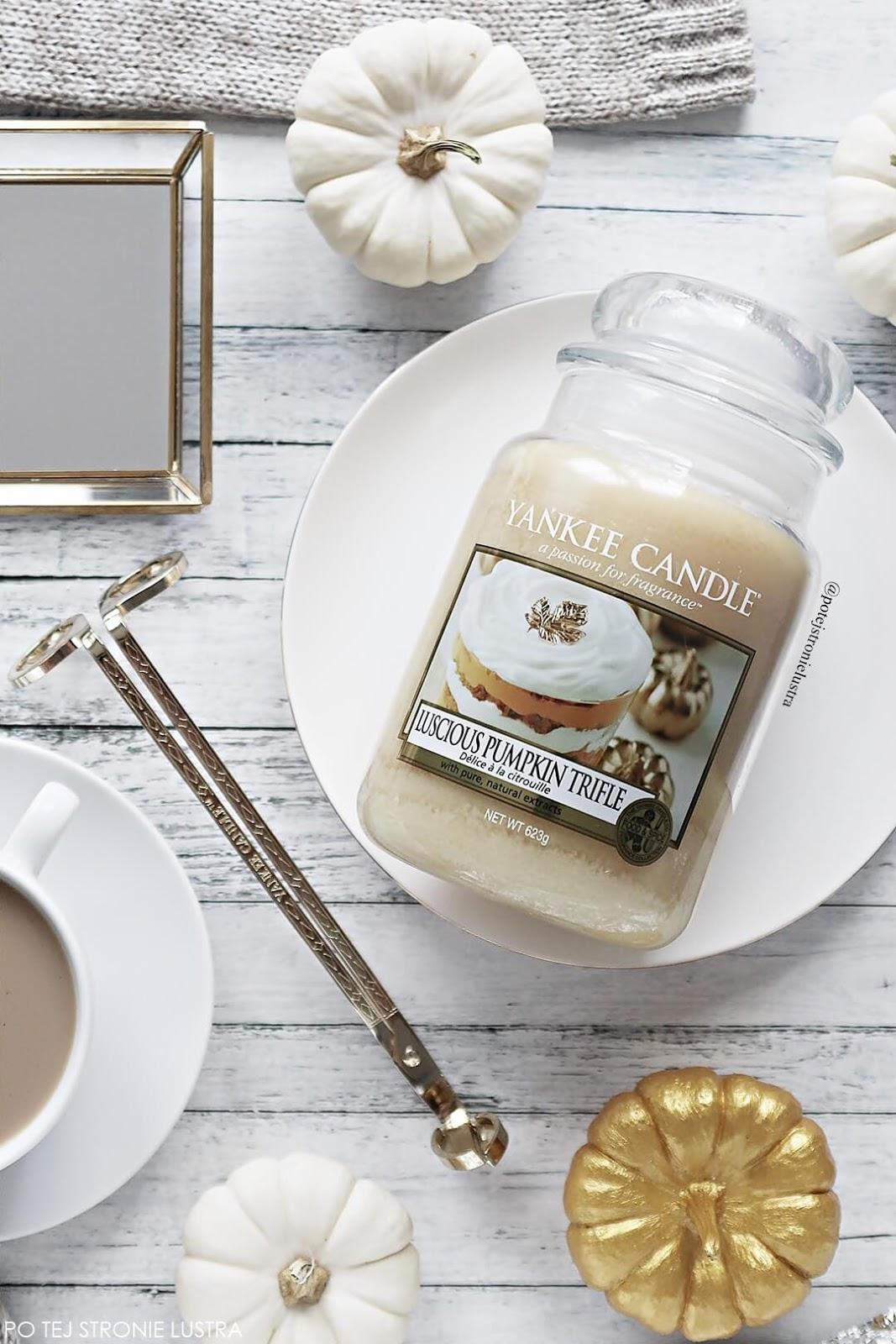 luscious pumpkin trifle yankee candle jesień 2018