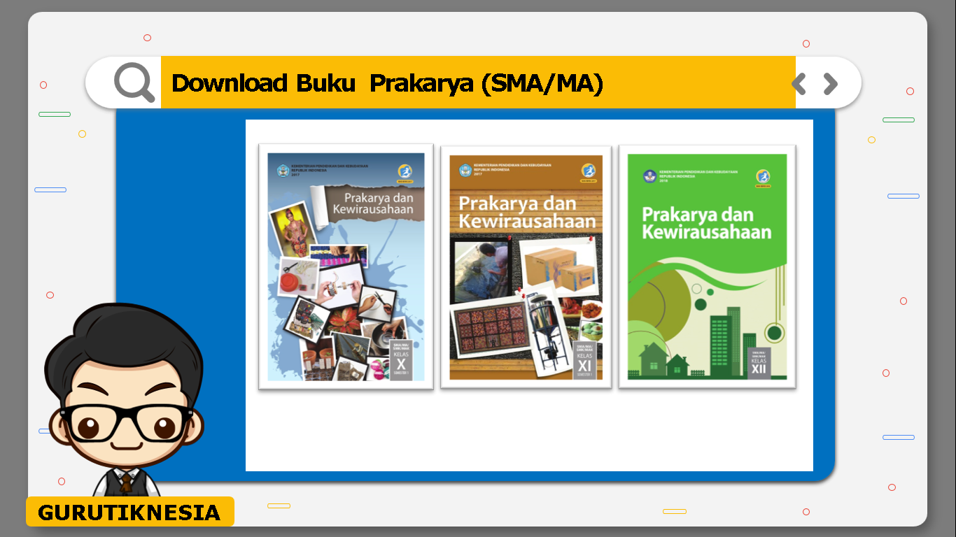 download gratis buku pdf prakarya untuk sma/ma