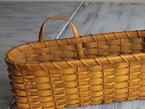 A Quick And Simple Farmhouse Basket Re-Do