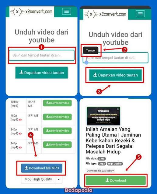 download mp3 youtube ceramah - x2convert