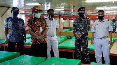 Dua Kapal Dijadikan Tempat Isolasi Terapung, MM-HH Apresiasi Gubernur Sulut