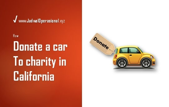 Donate a Car to Charity in California