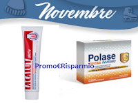 Logo Campioni omaggio Polase e dentifricio Lacalut: ritirali gratis