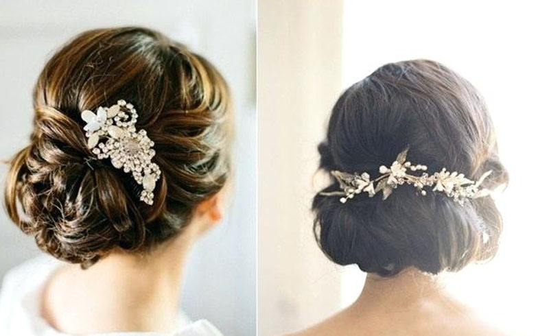 Wearing a Hair Accessory on Your Wedding Day