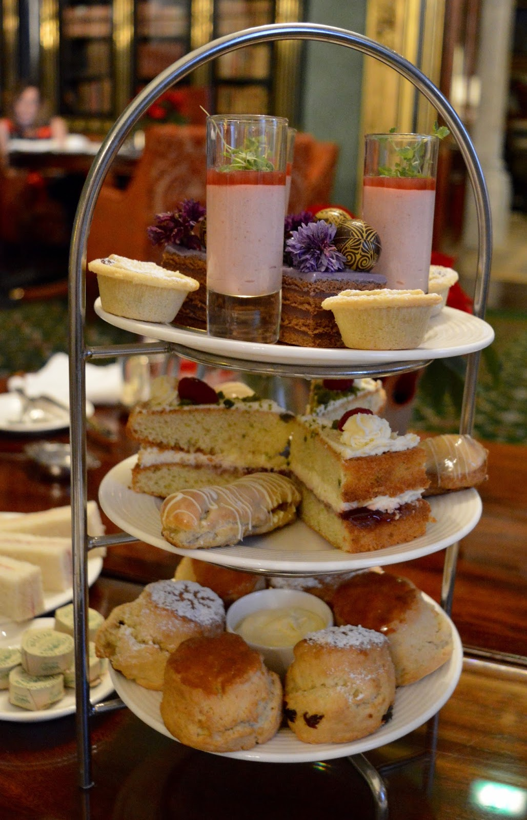 Afternoon tea at Wynyard Hall (with kids) - A Review - desserts and cakes