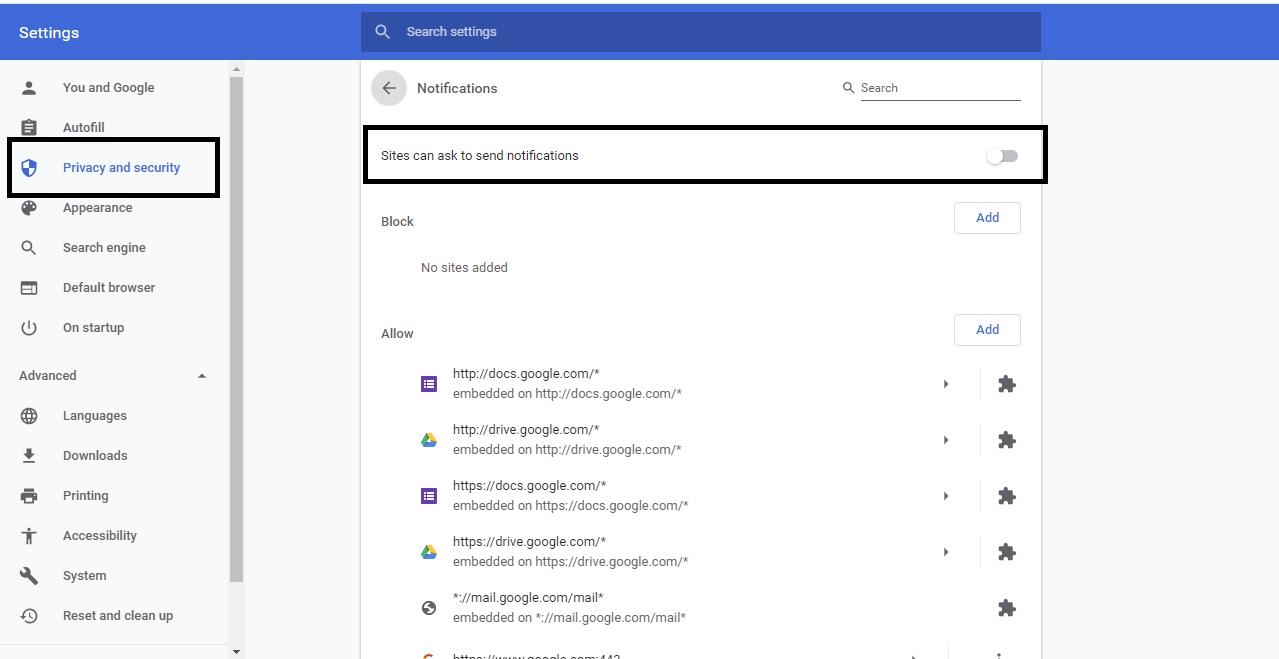 Cara Menghilangkan Notifikasi Chrome di Android dan PC